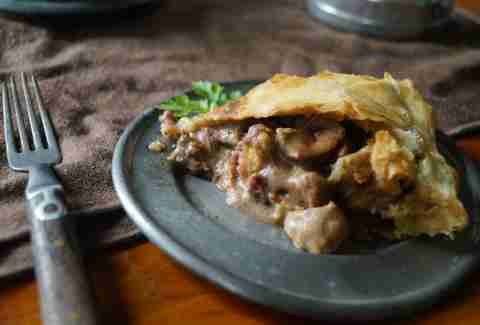 Game of Thrones steak and kidney pie