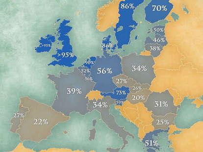 europe map english