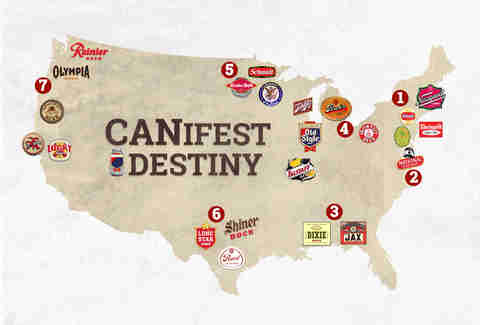 canifest destiny map