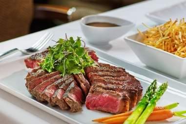 Steak at Hollywood Prime