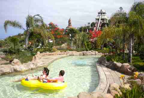 siam park water ride