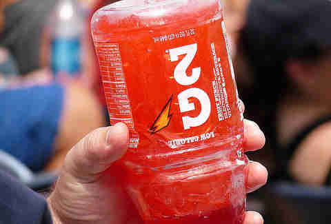 frozen gatorade