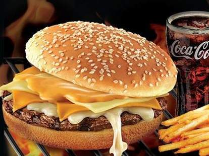 Burger King Philippines four-cheese Whooper