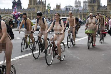 naked bike riders