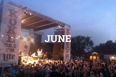KOKE Outdoor Movies and Concerts ATX