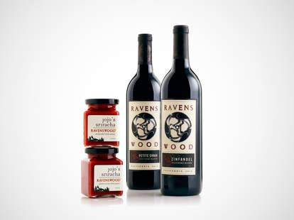 Ravenswood wine-infused sriracha sauces