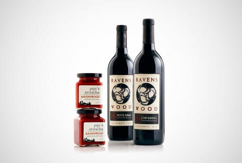 Ravenswood wine-infused sriracha sauces