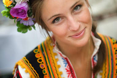 pretty bulgarian girl