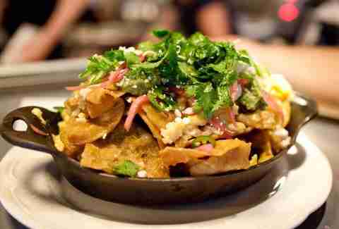 au cheval chilaquiles
