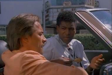 Crockett with Leon