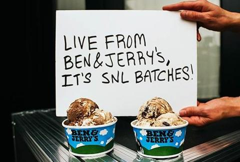 Ben & Jerry's Lazy Sunday and Gilly's Catastrophic Crunch