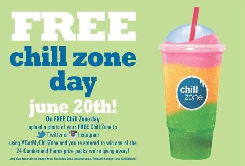 Cumberland Farms Free Chill Zone Day