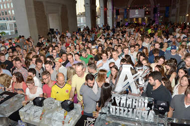 Ice Luge Event