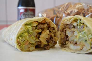 El Azteca Taco Shop Best Burritos SD