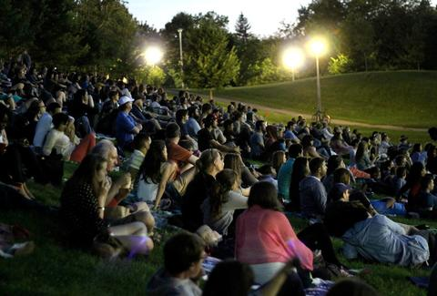Toronto Summer outdoor movies
