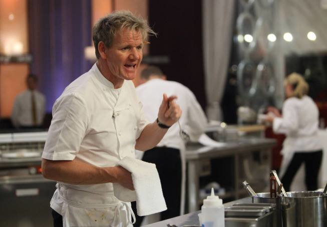 Gordon Ramsay Video Clips From Hell S Kitchen