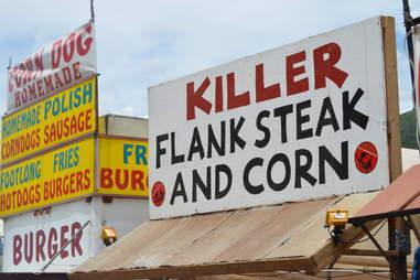 Sandwich & Corn Telluride Bluegrass Eats DEN