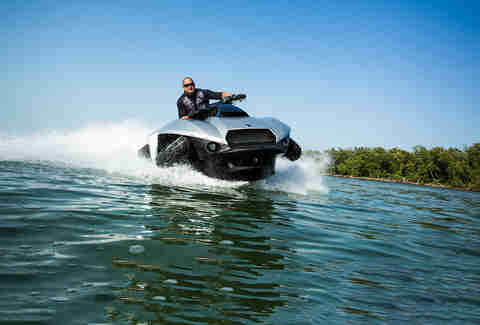 Show the water the what for on a Quadski XL