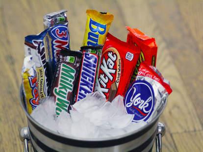 frozen candy bars