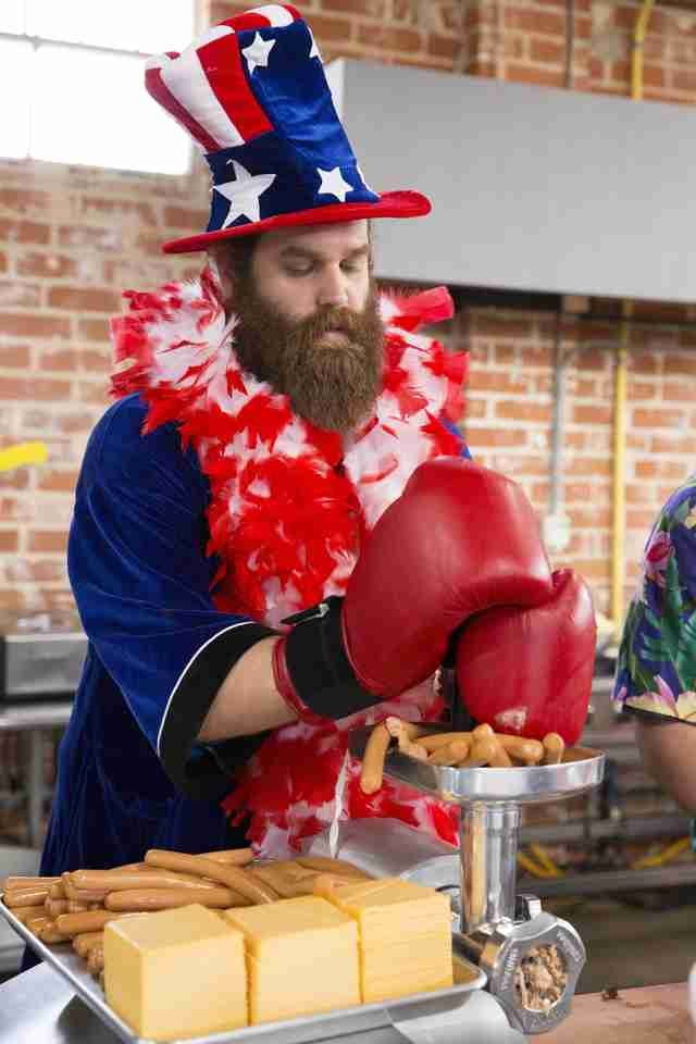 Epic Meal Time America burger