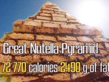 Great Nutella Pyramid