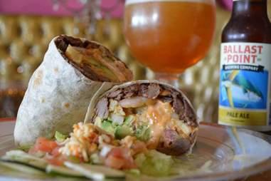 carne asad burrito
