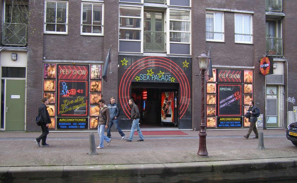 Amsterdam Live Sex Show Public -