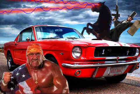 Ford being American as hell