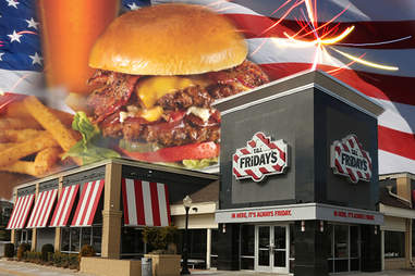 TGI Fridays being American as all getout