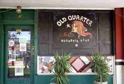 Old Quarter Acoustic Café Galveston Drinking Guide HOU