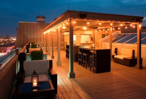 The Rooftop Bar Galveston Drinking Guide HOU