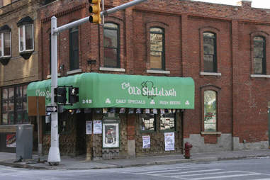The Old Shillelagh People Mover Bar Crawl DET