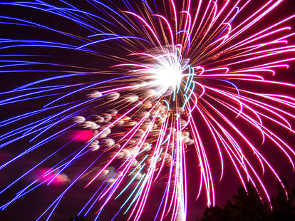 Hamptons fireworks