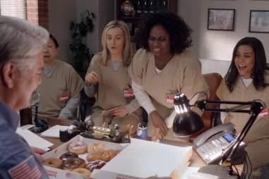 Orange Is the New Black donuts