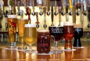 Rogue Ales Brewery on the Bay