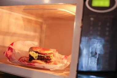 fast food microwave