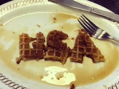 Waffle House USA waffles