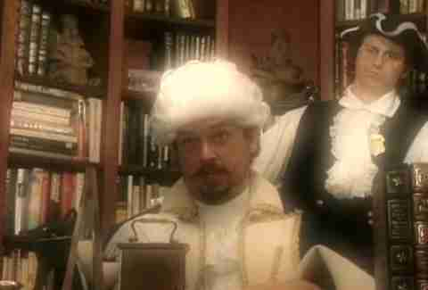 Danny McBride as George Washington