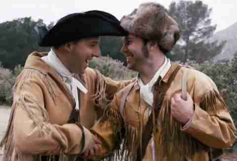 Taran Killam and Tony Hale as Lewis and Clark