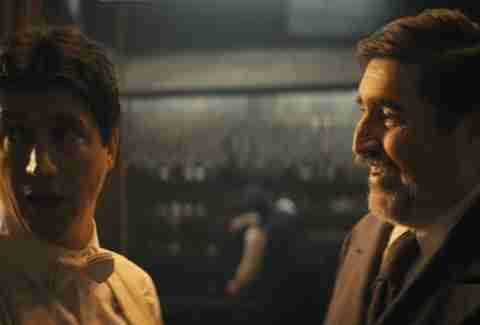 Ken Marino as Harry Houdini and Alfred Molina as Arthur Conan Doyle