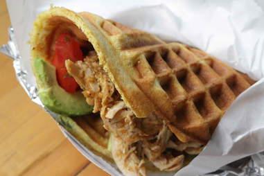 Waffle Sandwich NYC