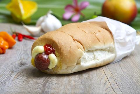 Hula Dog Hawaiian Style Hot Dogs