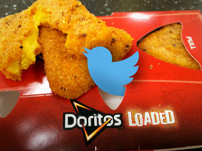 Doritos Loaded Twitter
