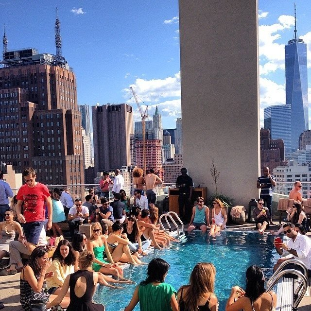 Sneak Into Nyc Rooftop Hotel Pools