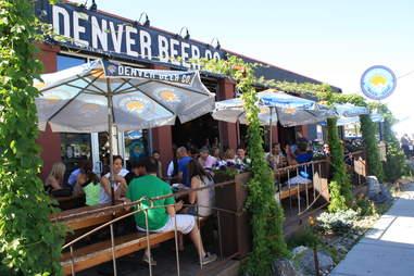 Denver Beer Co. Best Patios DEN