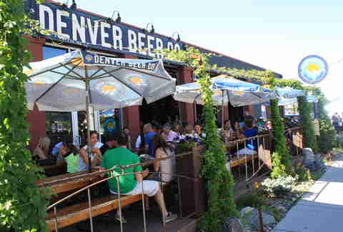 Denver Beer Co. Best Patios DEN