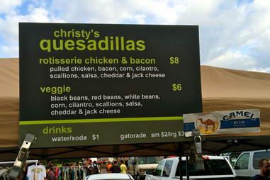 Christy's Quesadillas