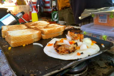 Grilled Cheese + Chicken Wraps