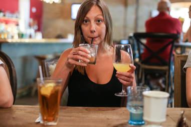 five drink girl