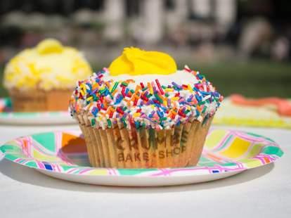 Crumbs cupcake